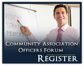 Community Association Officers Forum Registration